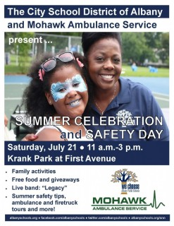 Summer Celebration and Safety Day 7-18